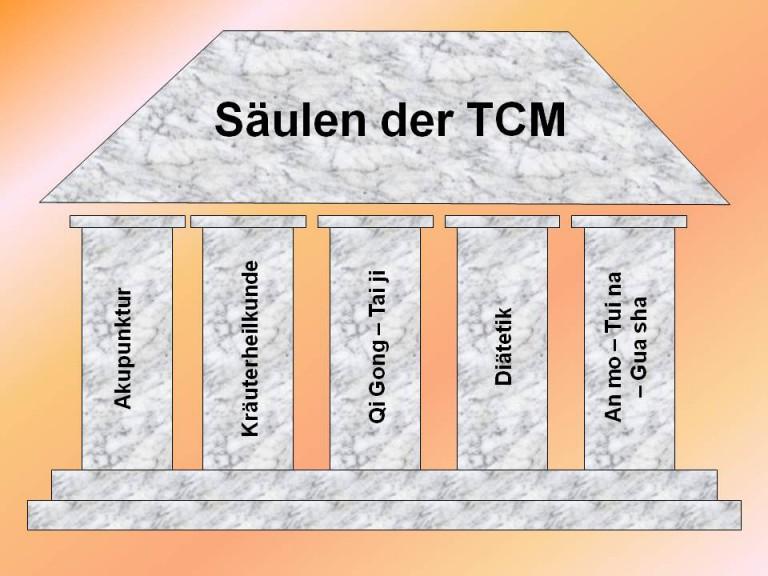 Säulen der TCM-11